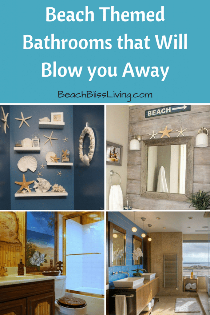 Beach themed bathrooms that will blow you away!