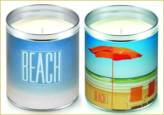 Aunt Sadies Summer Beach Candles