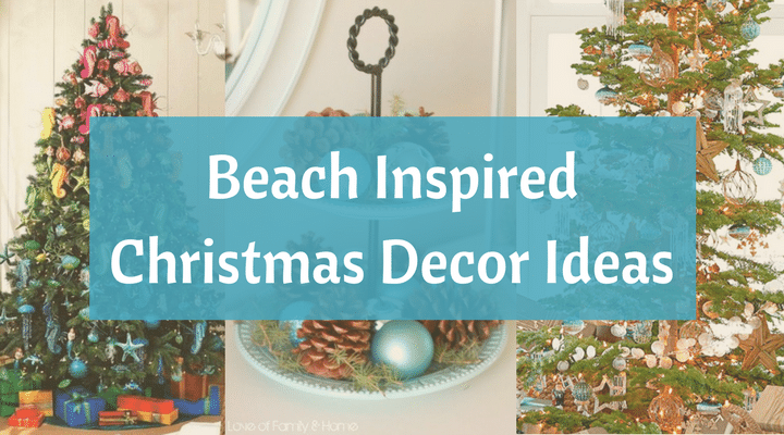 beach christmas decorations ideas inspired by sea sand shells beach bliss living - Beach Christmas Decorating Ideas