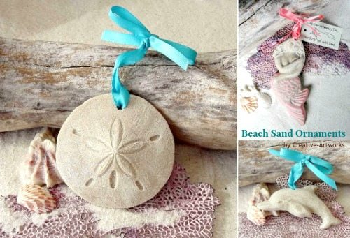 Beach Sand Ornaments
