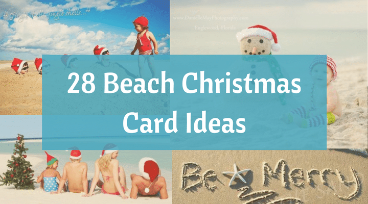 christmas on the beach 28 crazy cute christmas photo card ideas beach bliss living