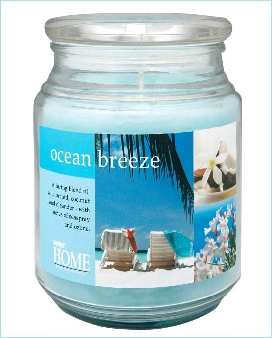 Blue Ocean Candle