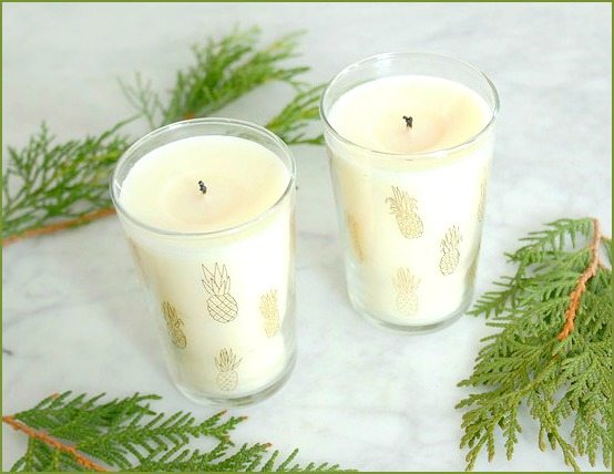 Tropical Candles Gift Idea