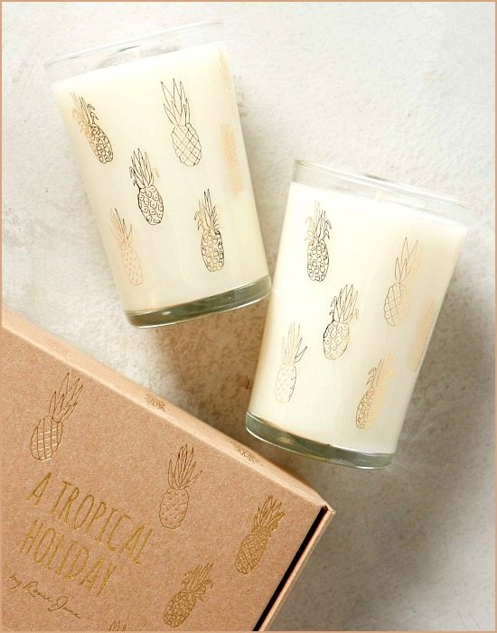 Tropical Candle Gift