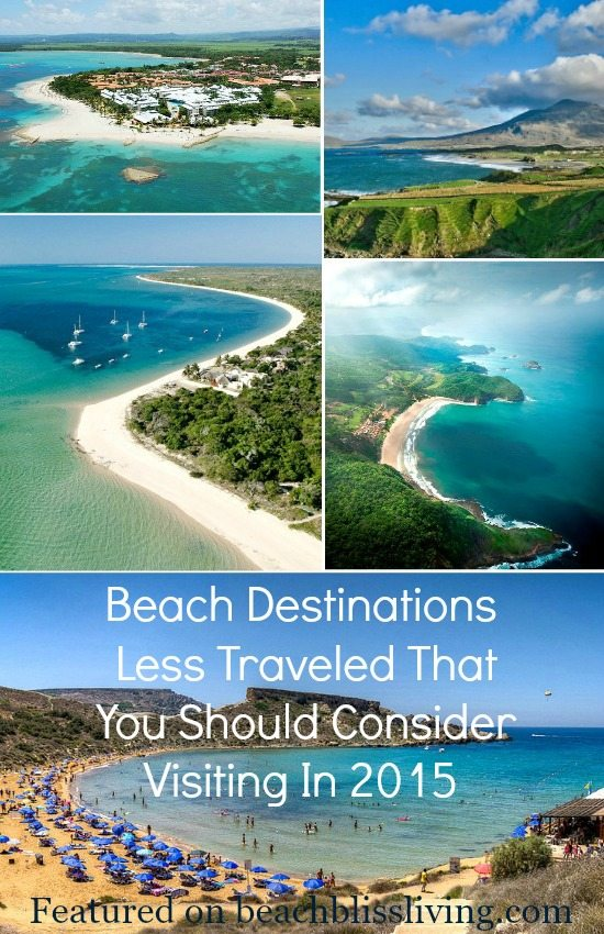 Beach Destinations Less Traveled to Visit in 2015