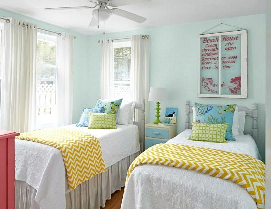 colorful beach cottage remodel from hgtv magazine beach bliss living. Black Bedroom Furniture Sets. Home Design Ideas