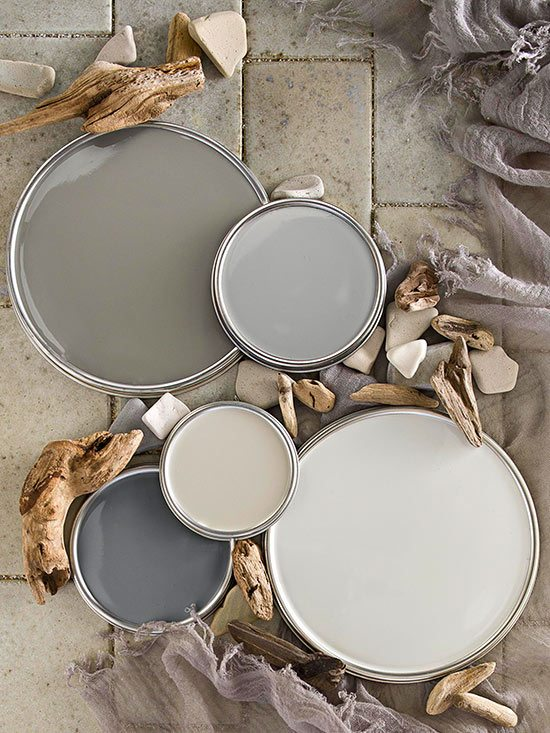 Neutral Gray Beachy Color Scheme