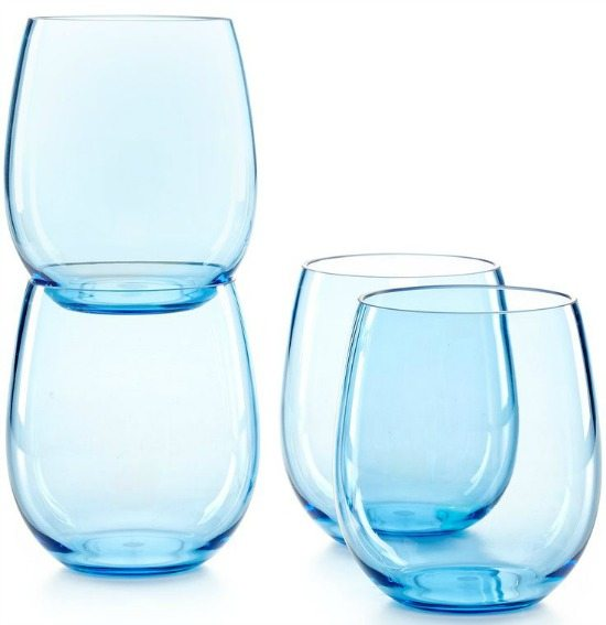 Beautiful Blue Drinkware In Ocean Hues Beach Bliss Living