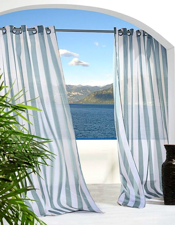 Cabana Striped Curtains