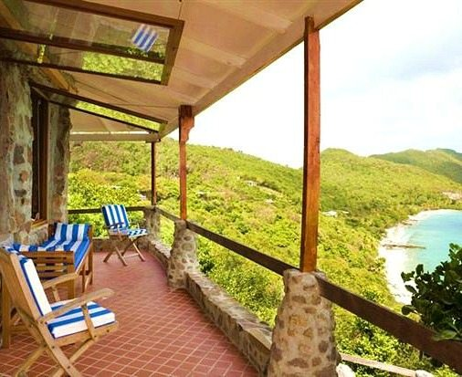Caribbean Stone House Rental in Moonhole Bequia
