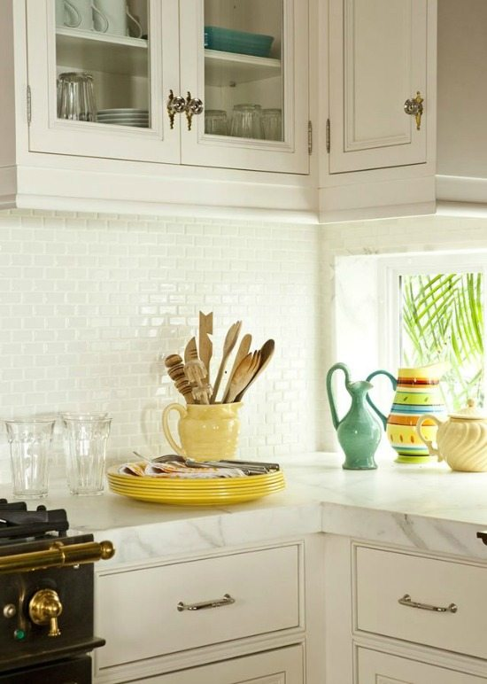 Key West Kitchen with Yellow Accents