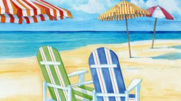 Idyllic Beach Art Prints and Products by Paul Brent