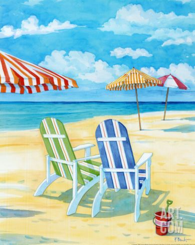 Paul Brent Beach Art