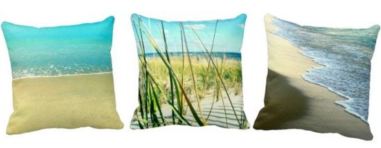 Photo Beach Pillows