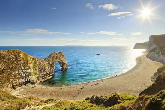 Durdle Door Beach England Dorset