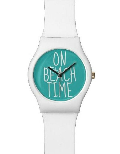 On Beach Time Quote Watch