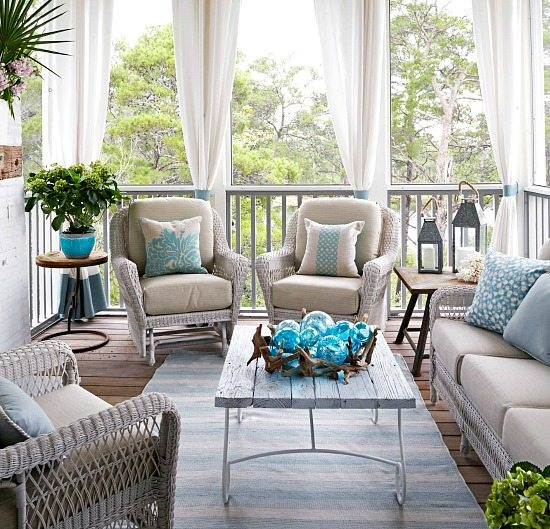 Beach Porch Decor