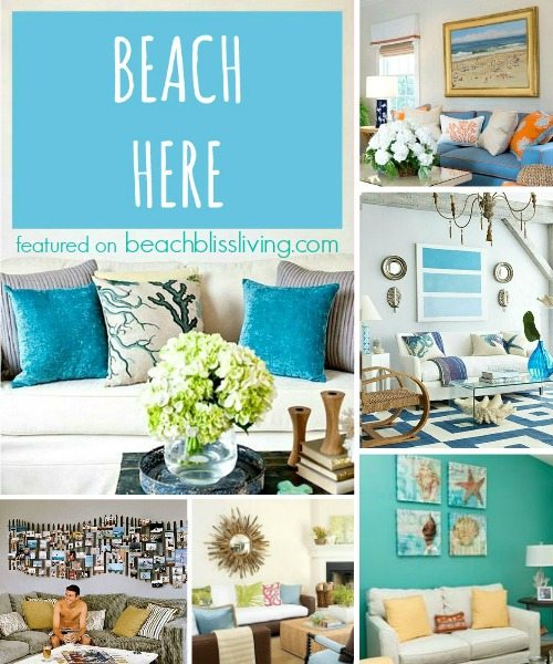 Inspiring beach wall decor ideas for the space above the for Coastal wall decor ideas