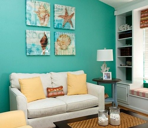 Wall Decor For Over Couch : Inspiring beach wall decor ideas for the space above