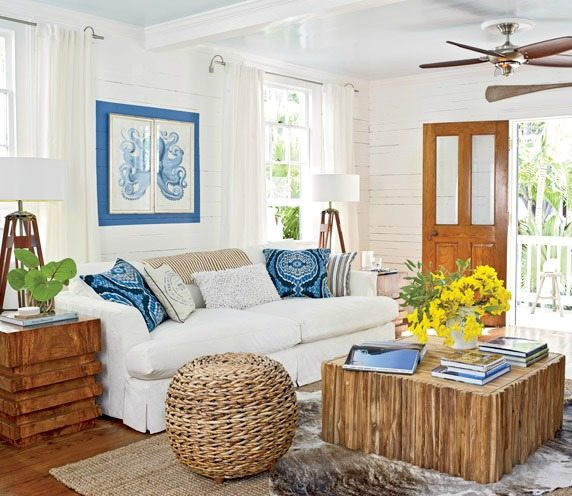Cottage Home Decorating: Cozy Island Style Cottage Home In Key West
