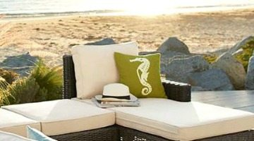 Outdoor Patio Porch Decor Beach Inspired