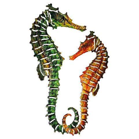 Seahorse Wall Art for Outdoor