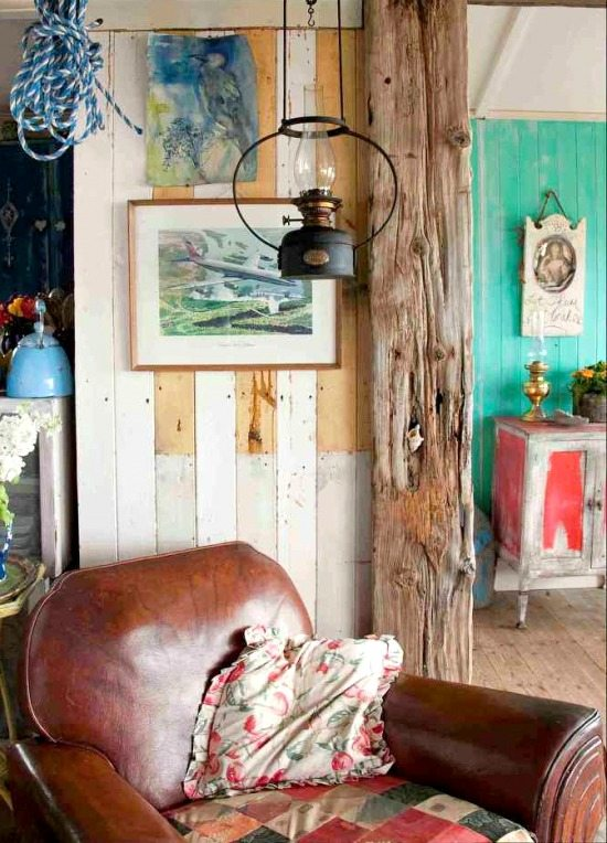 Extremely Rustic Shabby Chic Beach Cottage - Beach Bliss ...