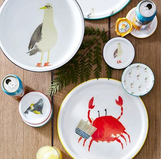Beach Buddy Trays and Coasters