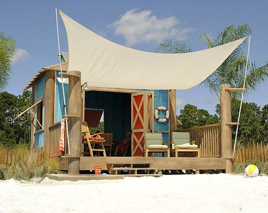 Beach Tents Cabanas : A beach cabana day on castaway cay disney s private