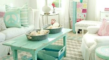 Heavenly Beach Cottage In Pastel By Tracey Rapisardi   Beach Bliss Living    Decorating And Lifestyle Blog