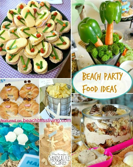 Beach Party Food Ideas