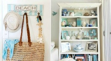 Bright Beach Vintage Style Home
