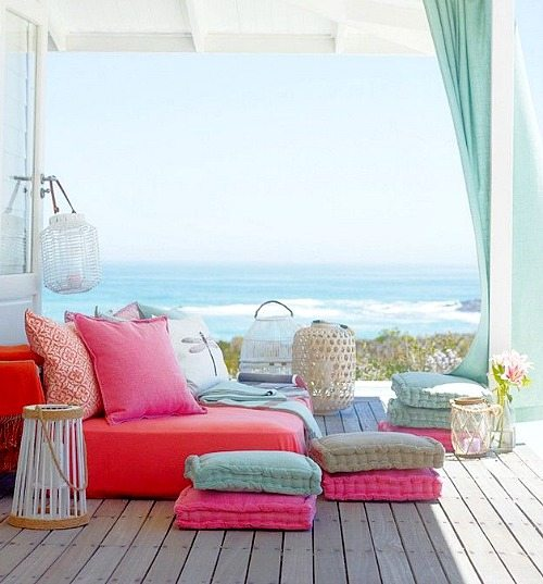 Floor Pillows For Beach Living Part 95