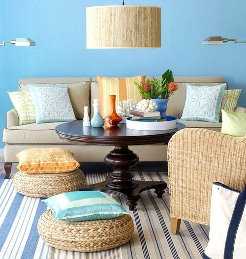 Floor Pillows Amp Poufs Beach Bliss Living