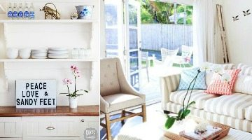 Retro Chic Beach Cottage Home Tour