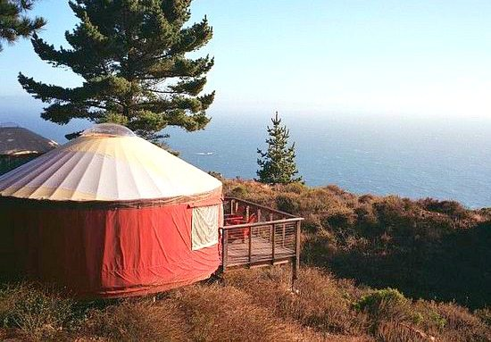 Yurt at Treebones Resort Big Sur