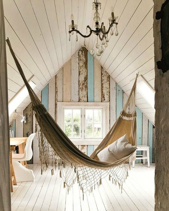 Hammock Inside Home