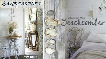 Tim Neve's Beach Vintage Style Bundled up in the Book Sandcastles
