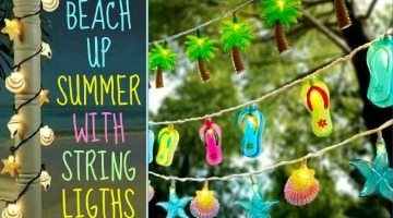 Beach up your Summer with String Lights