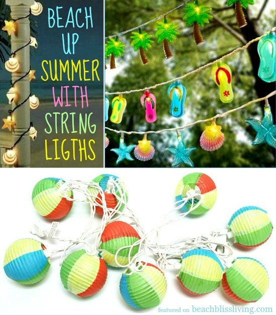 Beach String Lights