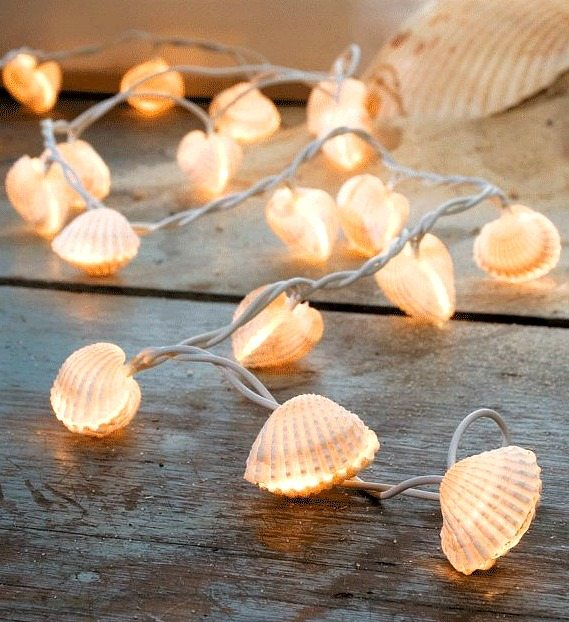 Seashell String Lights