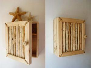 create a true beach feel to your kitchen and home with driftwood