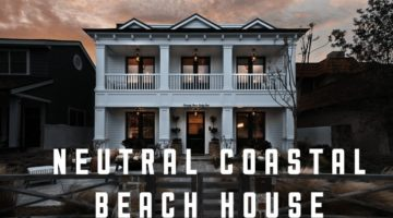 Coastal Beach House Tour