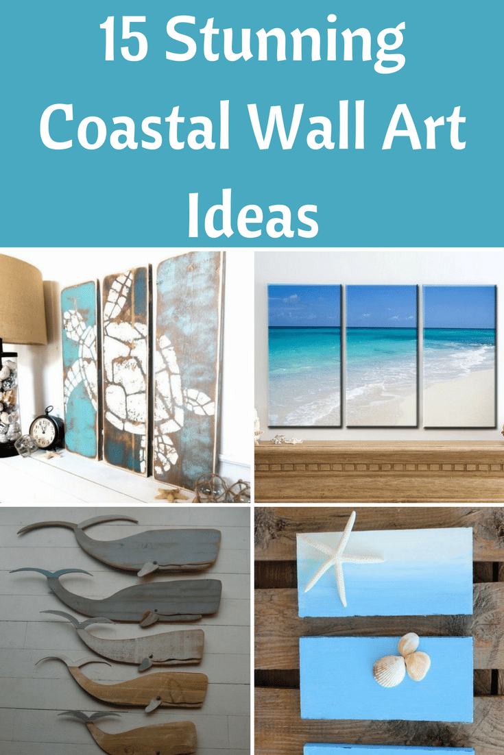 15 stunning coastal wall art ideas beach bliss living for Coastal wall decor ideas
