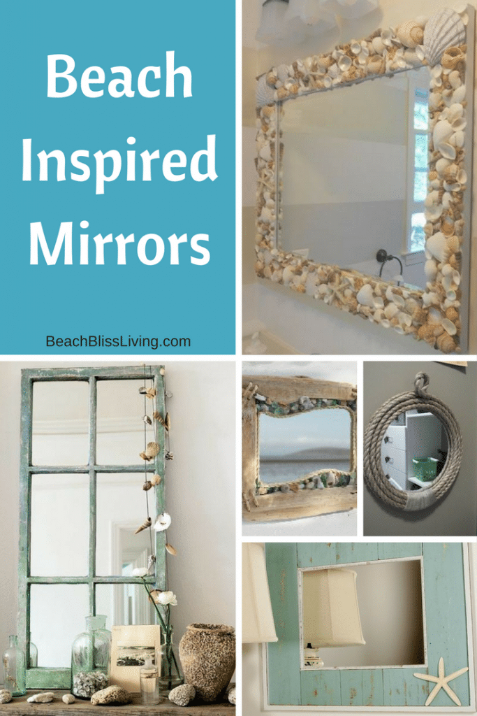 Beach and Coastal Inspired Mirrors