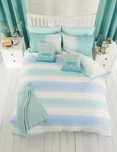 Nautical Themed Bedroom Decor: 5 Stylish Beach Inspired Bed Linen