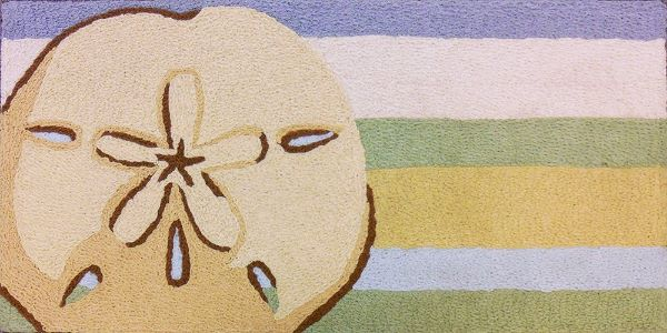 Sand Dollar Bathroom Rug