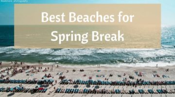 An Overview of the Best Beaches for Spring Breakers