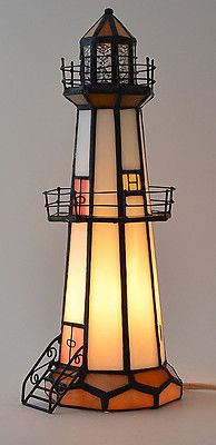 Unique ways to use lighthouses for decor beach bliss living source this lighthouse shaped lamp mozeypictures Choice Image