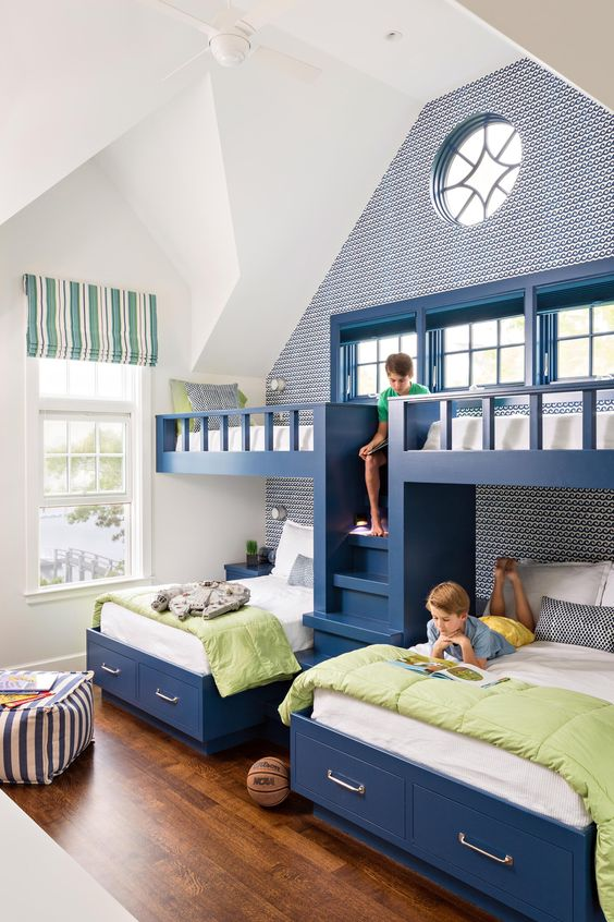 Spruce Up A Bedroom With These Creative Beach Bunk Beds